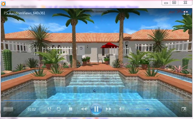 Virtual Landscape and Pool Design by Metamorphosis Landscape Design