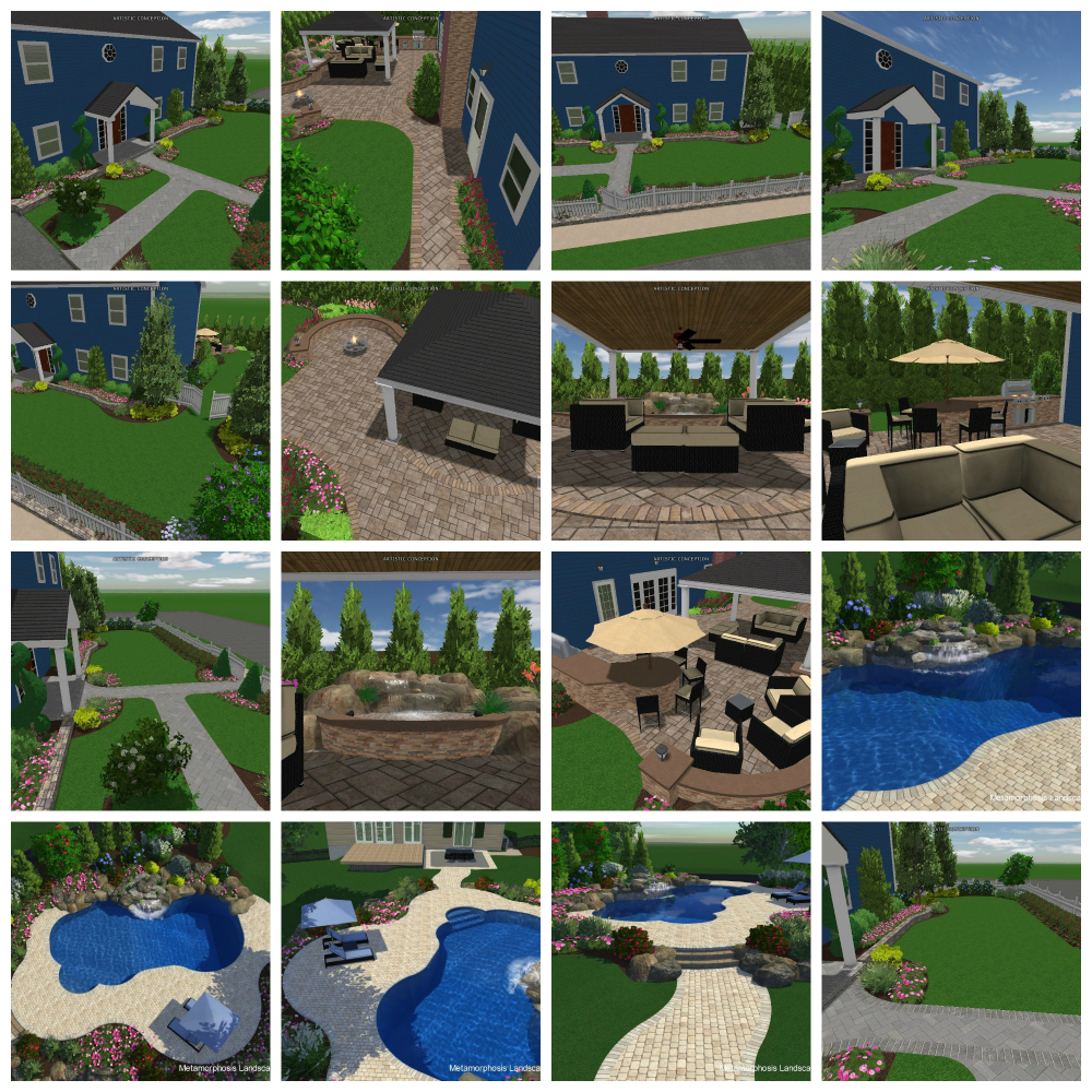 Virtual Design | Metamorphosis Landscape Design | Metamorphosis Landscape Design