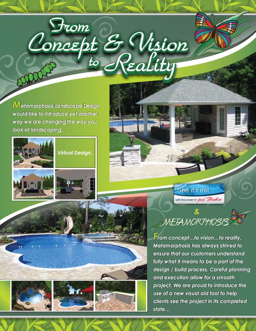 Metamorphosis Landscape Design Virtual Design Brochure - Page 1