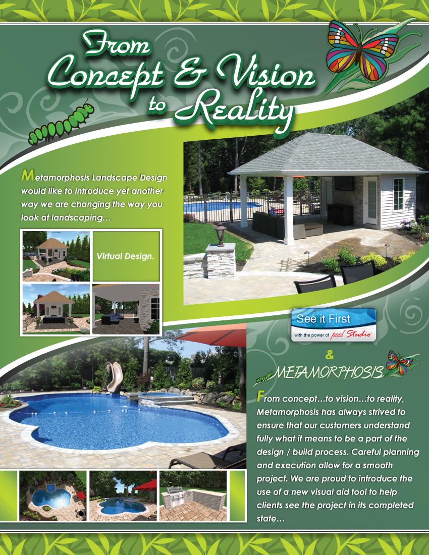 Metamorphosis Landscape Design Virtual Design Brochure - Page 1