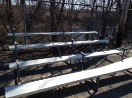 Business Owner, Ball Player Come to S.Y.A.G.'s Aid, Donate Bleachers - Metamorphsis Landscape Design