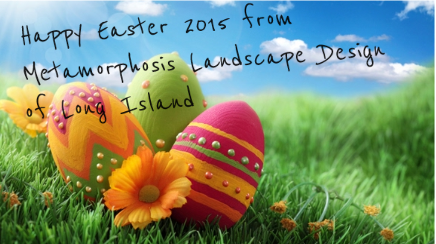 Happy Easter from Metamorphosis Landscape Design of Long Island